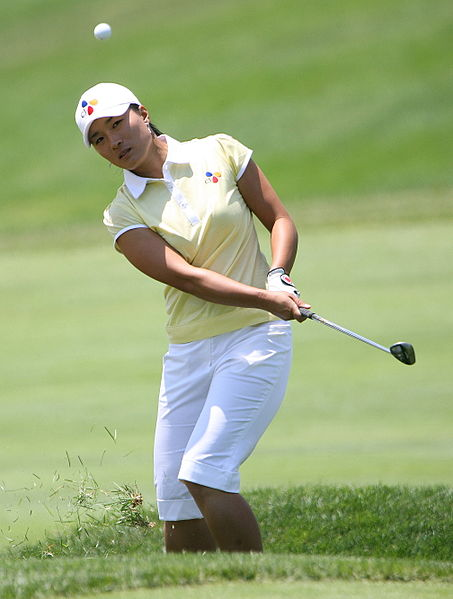 Se Ri Pak at the 2007 LPGA Championship.