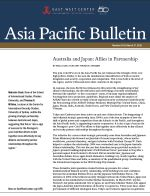 Asia Pacific Bulletin: Australia and Japan: Allies in Partnership (Click for PDF)