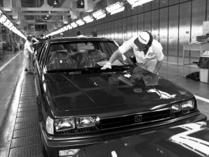 "Honda, established the first Japanese ""transplant"" in Marysville, Ohio, in 1982. The Accord was the plant's first vehicle and it remains its core product. Image Source: Honda/Wieck"