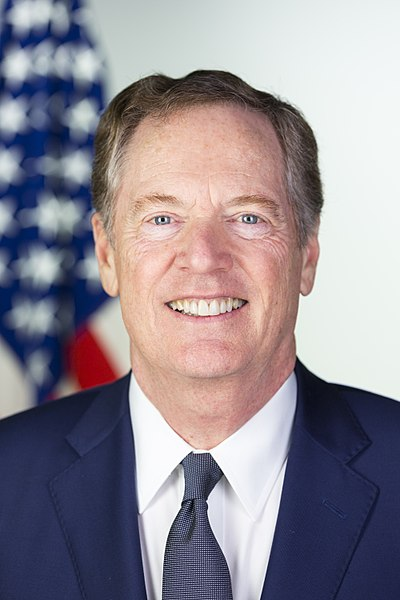 Official Portrait of United States Trade Representative Ambassador Robert E. Lighthizer. Image: Stephanie Chasez, White House