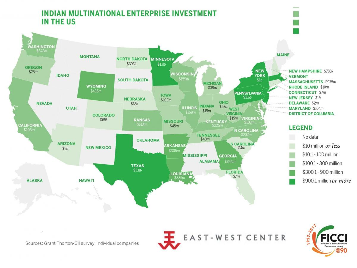 Indian Multinational Enterprise Investment In The US