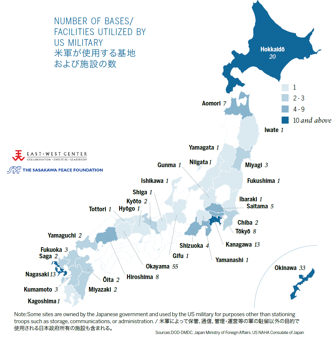 USJapan Security Alliance Asia Matters For America By The East - Map of south korea us army bases
