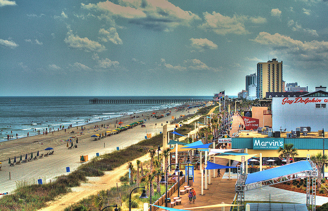 Myrtle Beach Ga The Best Beaches In World