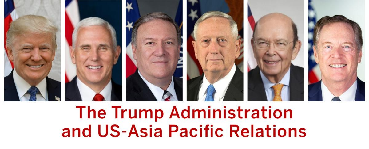 Trump Administration and US-Asia Pacific Relations Slider. Image: Caitlin Brophy
