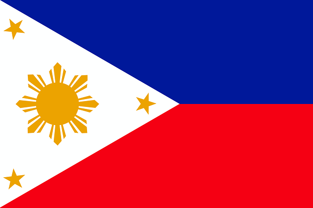 Philippine Flag. Image: CC0 Public Domain on Pixabay